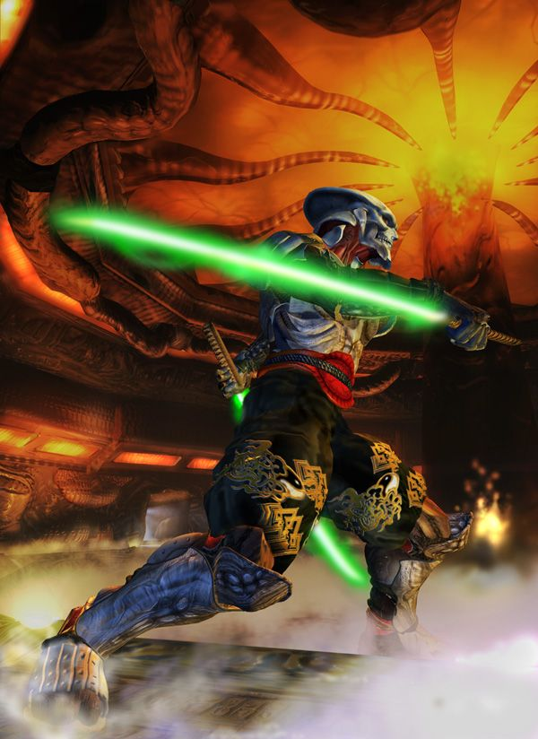 Yoshimitsu Screenshots Images And Pictures Comic Vine Illustrations And Posters Street Fighter Tekken Comics