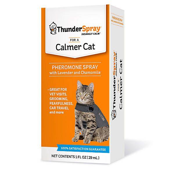 Thunderspray Insanely Calm Trade Pheromone Calming Cat Spray