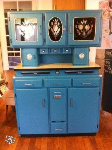 Meuble de cuisine année 50 | Relooking meubles | Mobilier de Salon ...