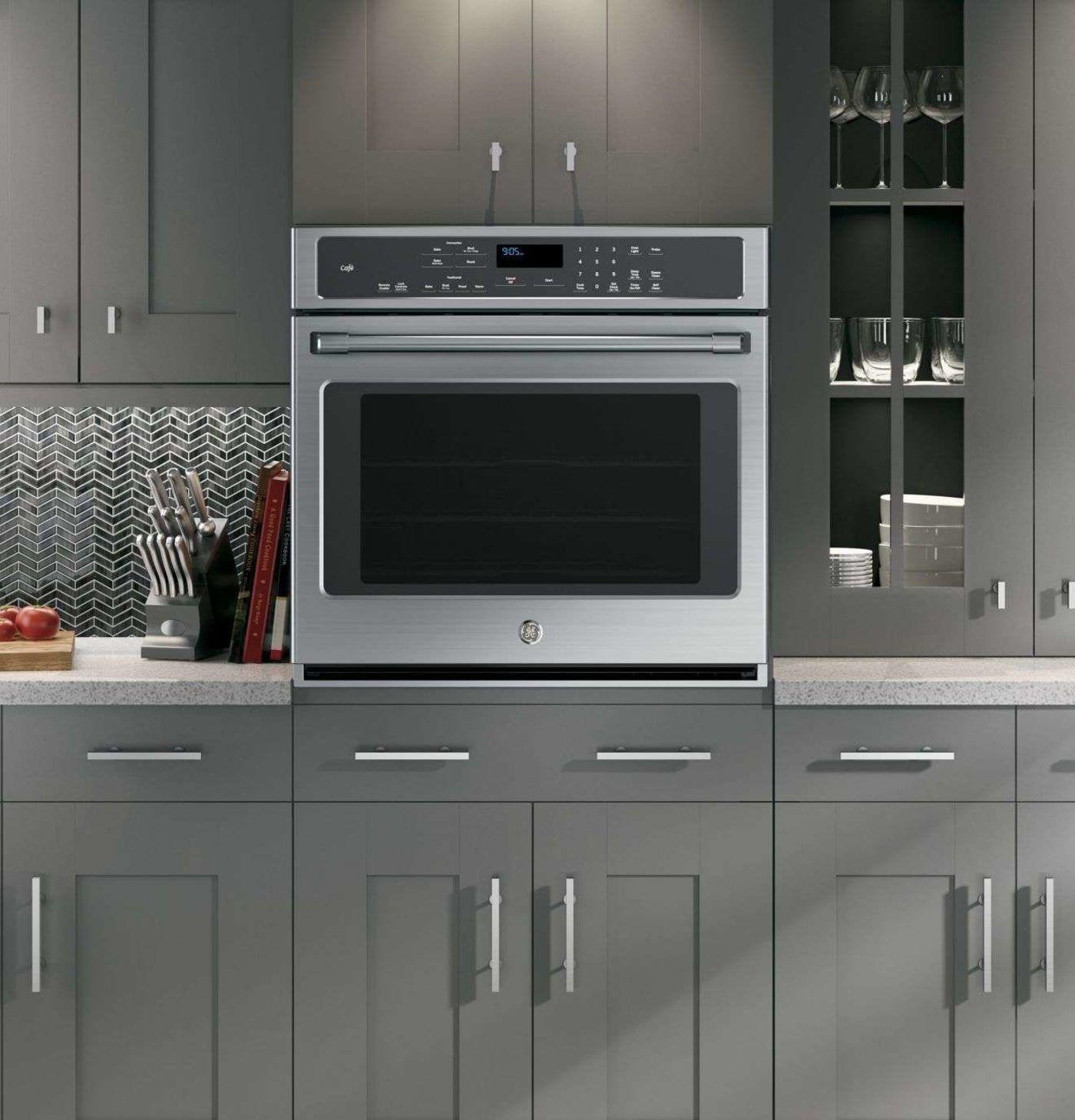 GECT9050SHSS Dark grey kitchen Slate