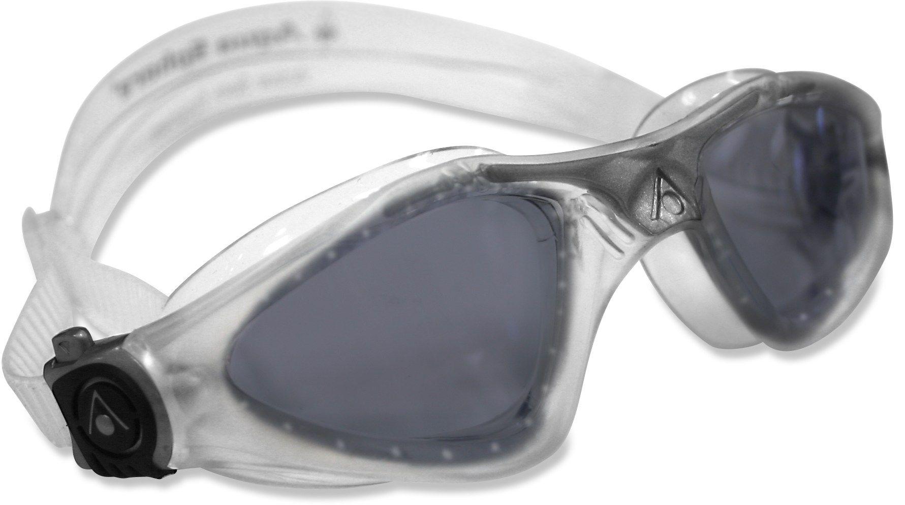 7b14fc394d11 Aqua Sphere Male Kayenne Smoke Lens Swim Goggles - Men s