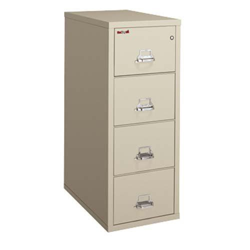 Fire King International Inc Insulated File Cabinet 4 Drawer 20 3 4 X31 1 2 X52 3 4 Bk By Filing Cabinet Office Furniture Accessories Home Office Furniture