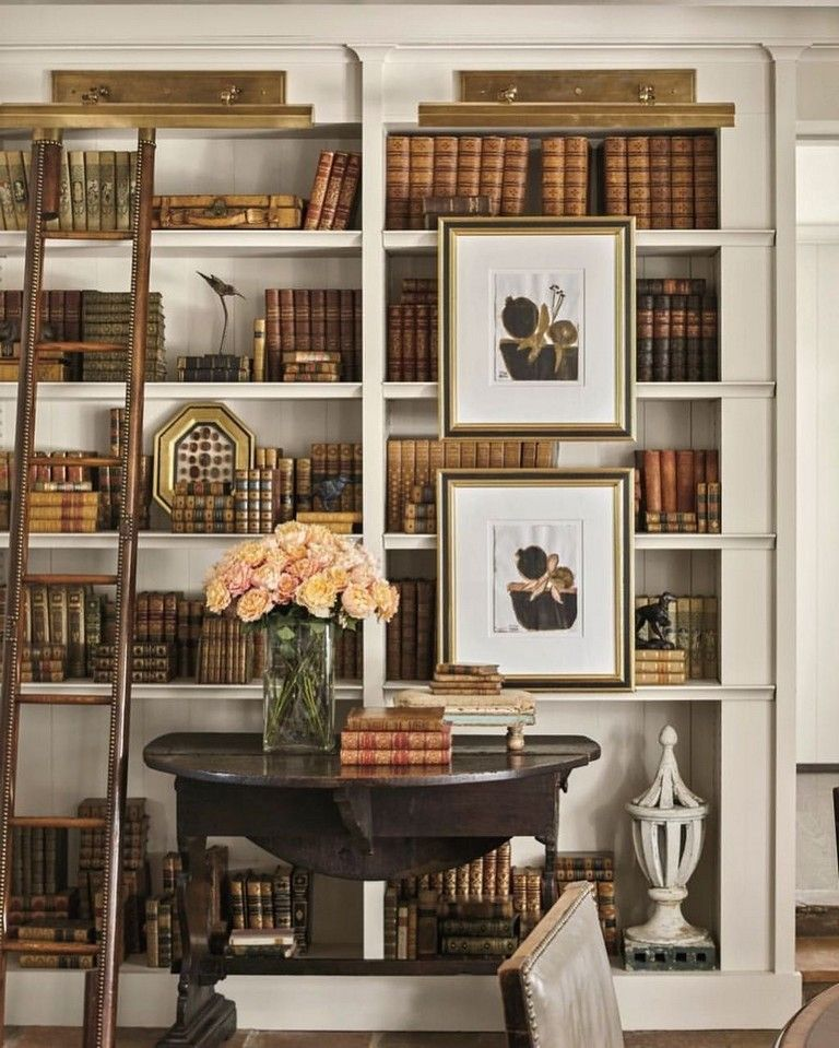 38+ The Top Home Library Design Ideas With Rustic Style