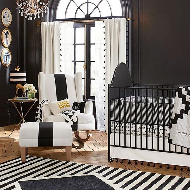 Repost From Potterybarnkids This Nursery Is Stunning