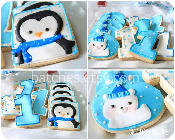 @Asheli Elizabeth Mann  I need your mom to make me these penguin cookies for christmas!! Adorable.