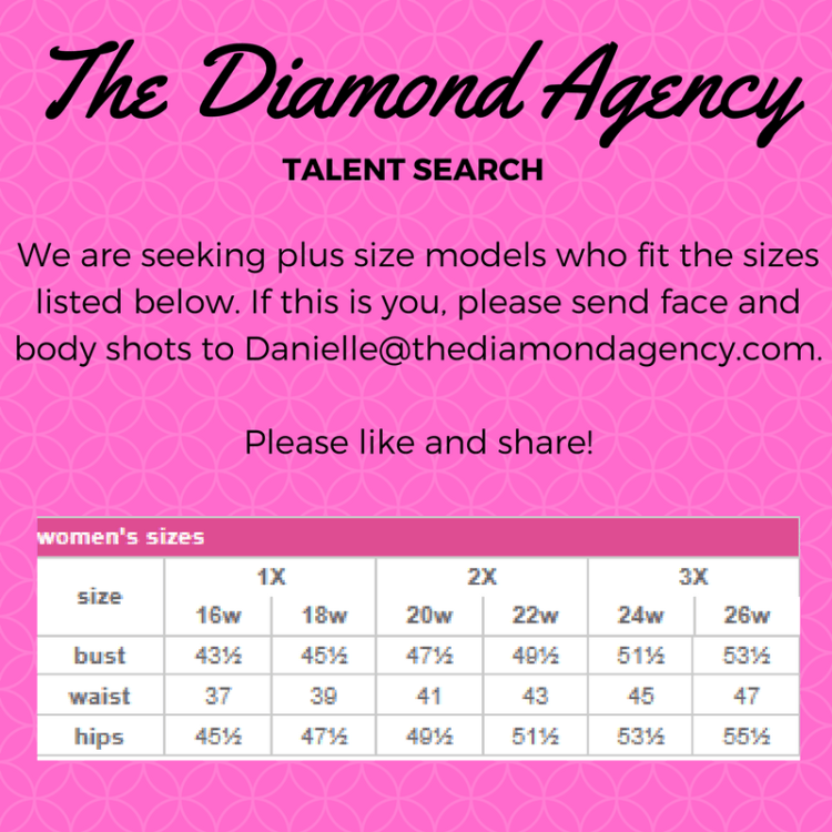 Talent Agency Open Casting Call for Plus Size Models