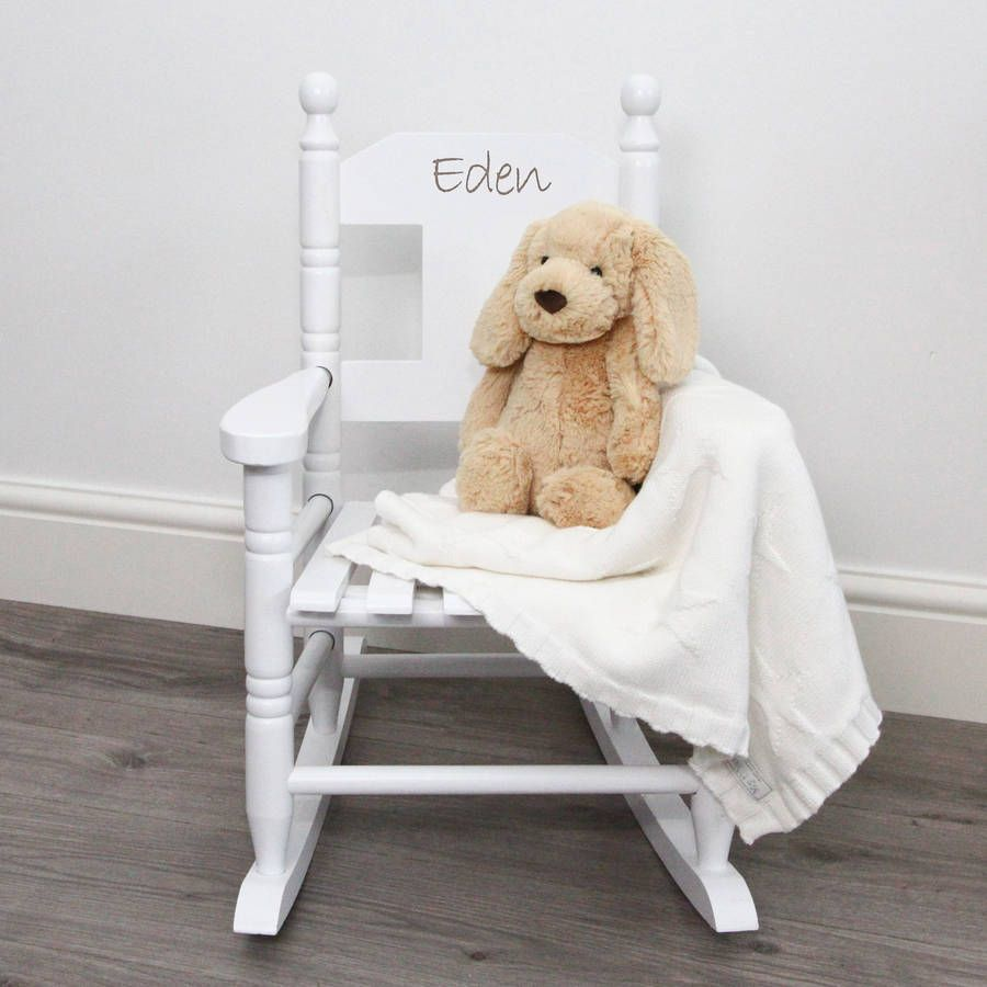 Personalised Childs Rocking Chair Rocking chairs Children s and