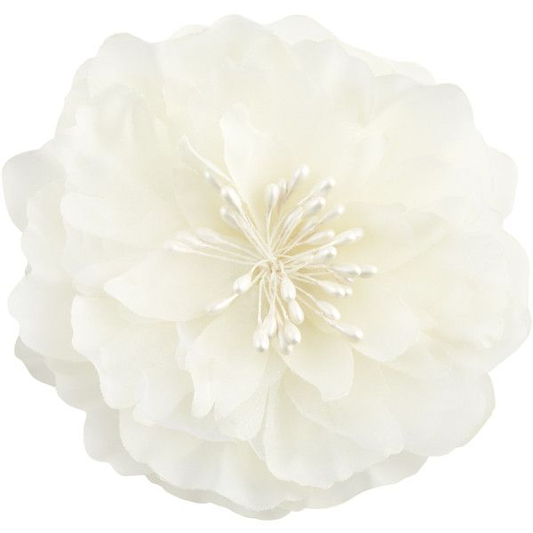 Accessorize Peony Flower Hair Corsage (18 AUD) ❤ liked on Polyvore featuring accessories, hair accessories, flower hair accessories and flower corsage