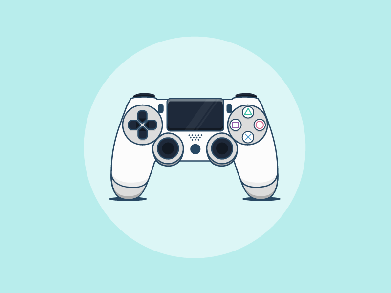 Ps4 Controller Ps4 Controller Game Controller Art Ps4