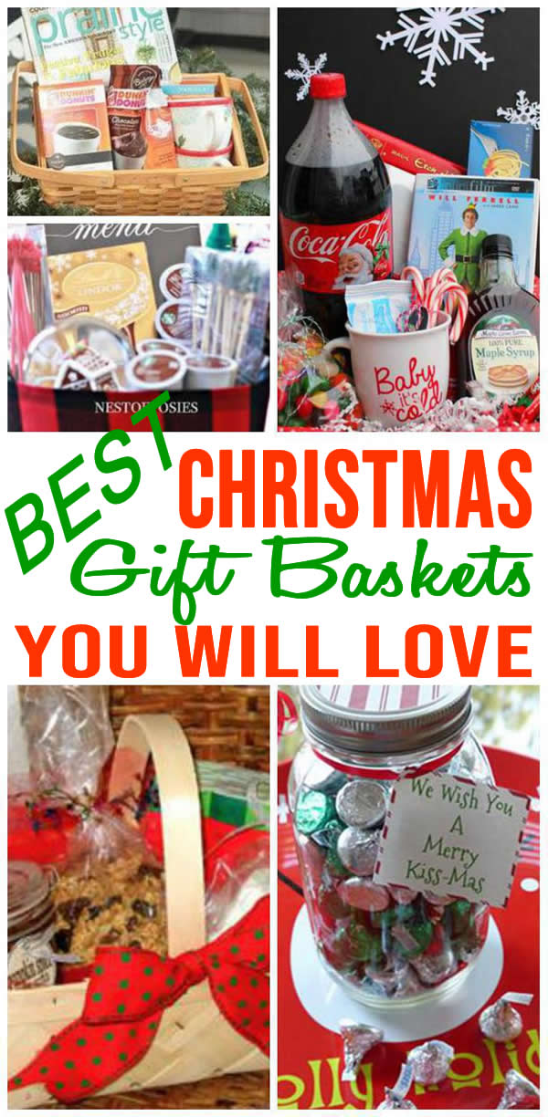 Best Christmas Gift Baskets Easy Diy Christmas Gift Basket Ideas For Family Friend Christmas Gift Baskets Diy Easy Diy Christmas Gifts Diy Christmas Baskets