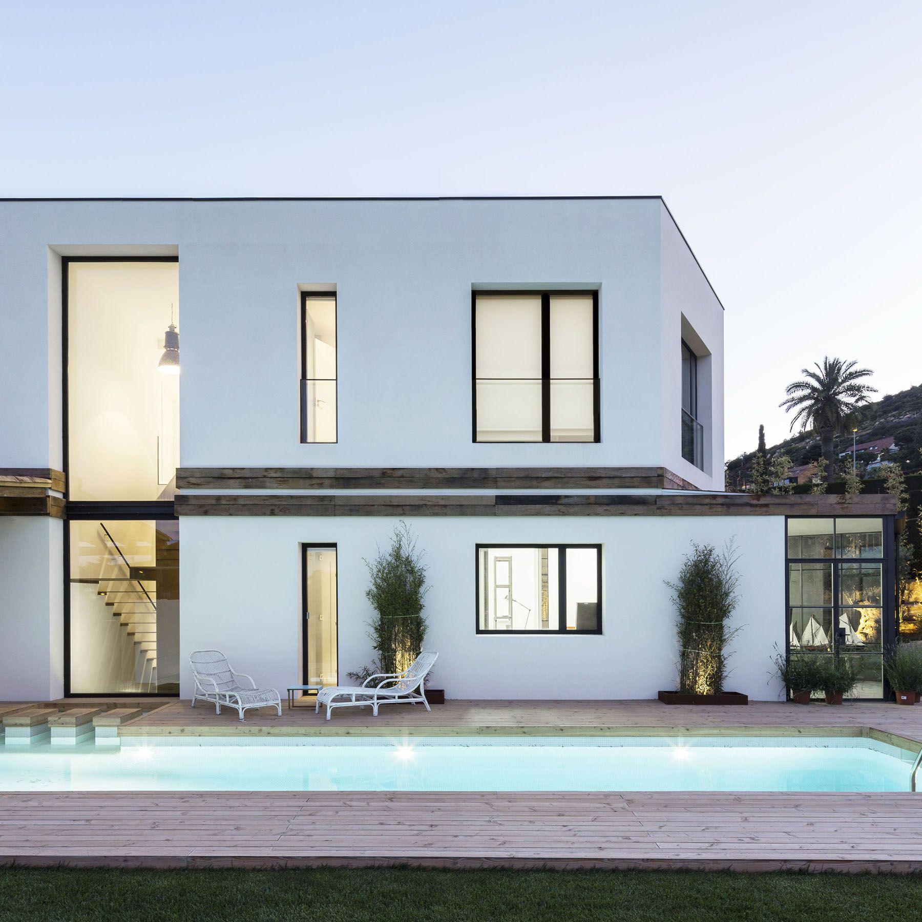 Contemporary Neoclassical Architecture Home