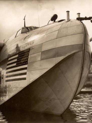 Pan Am Clipper - So amazing.  None have survived.
