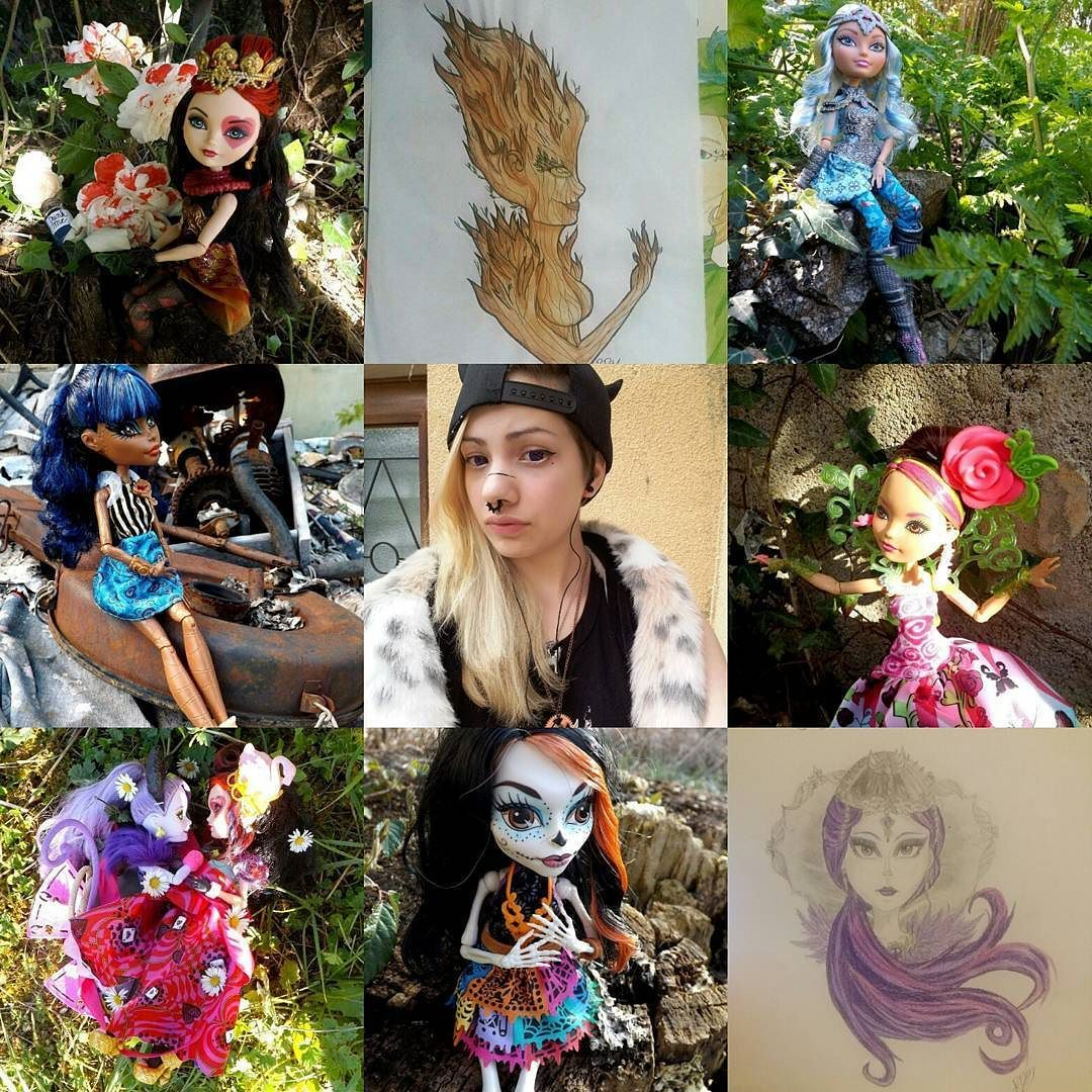 #artvsartist #everafterhigh #monsterhigh #drawing #doll #art #photographer #create #drawing #mattel #passion #colection #artwork #colorful #cute #kawaii #wonderland #artist #instadoll #fashiondoll #harajuku by ruby.dreamy