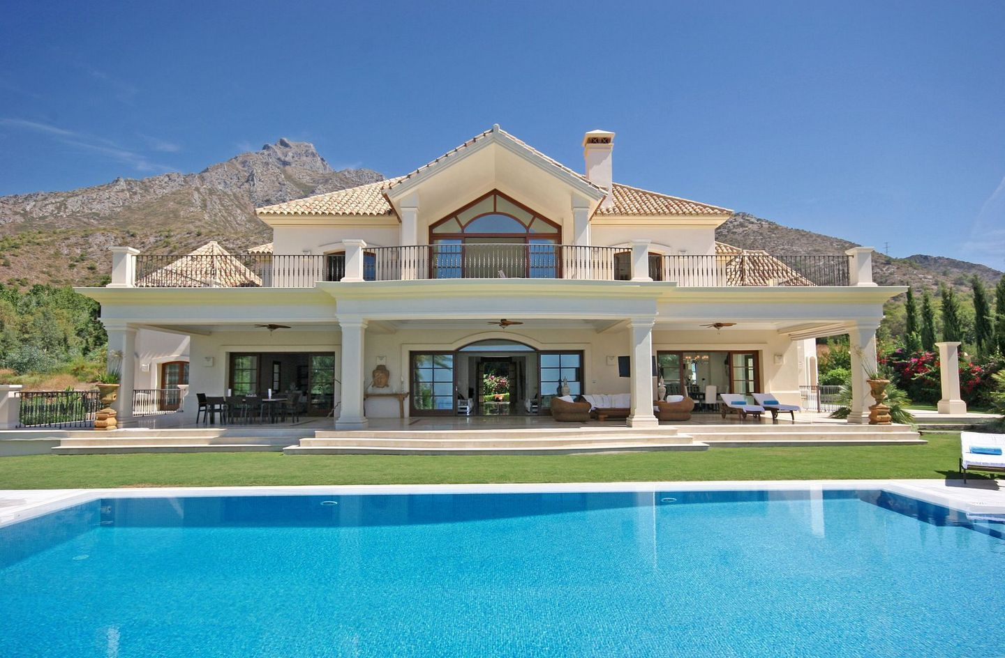 Marbella Mansion. I wouldn't be upset with a house like