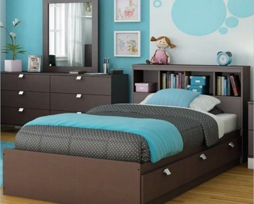 Matching Interior Design Colors And Creating Stylish Home Interiors With Blue Color Hues Bedroom Turquoise Turquoise Room Modern Kids Bedroom