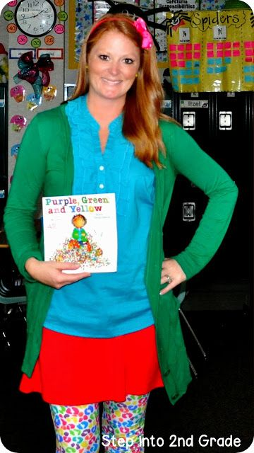 Step into 2nd Grade with Mrs. Lemons:  Read Across America Day