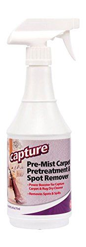 Capture Carpet Cleaner Soil Release Pre Mist 24 Ounce Suggested For Upholstery Spot Cleaning Carpet Cleaners Odor Mists