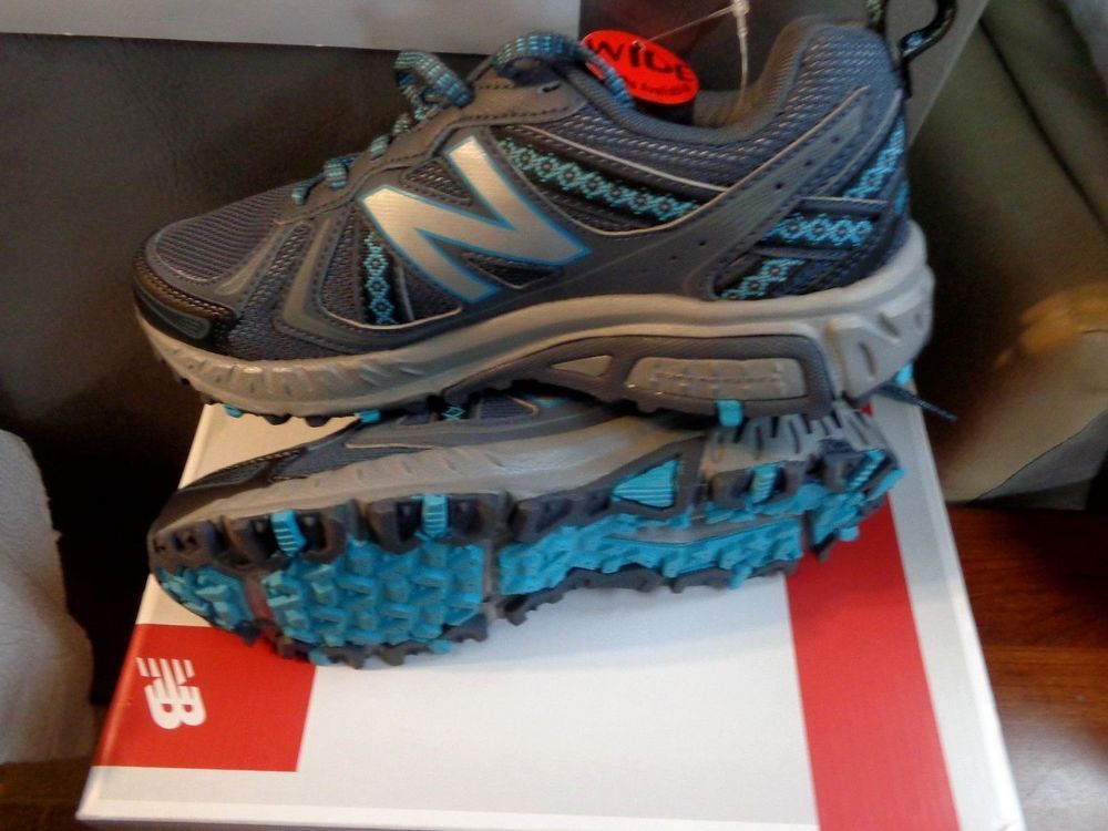 8552d0073f NEW BALANCE WT410LO5 All Terrain Trail Running Athletic Shoes NEW ...