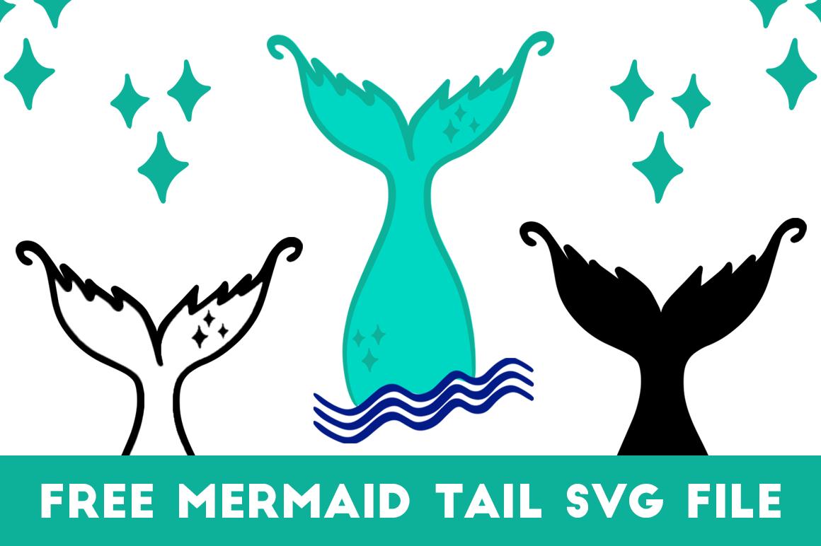 Mermaid Tail Svg Cut File