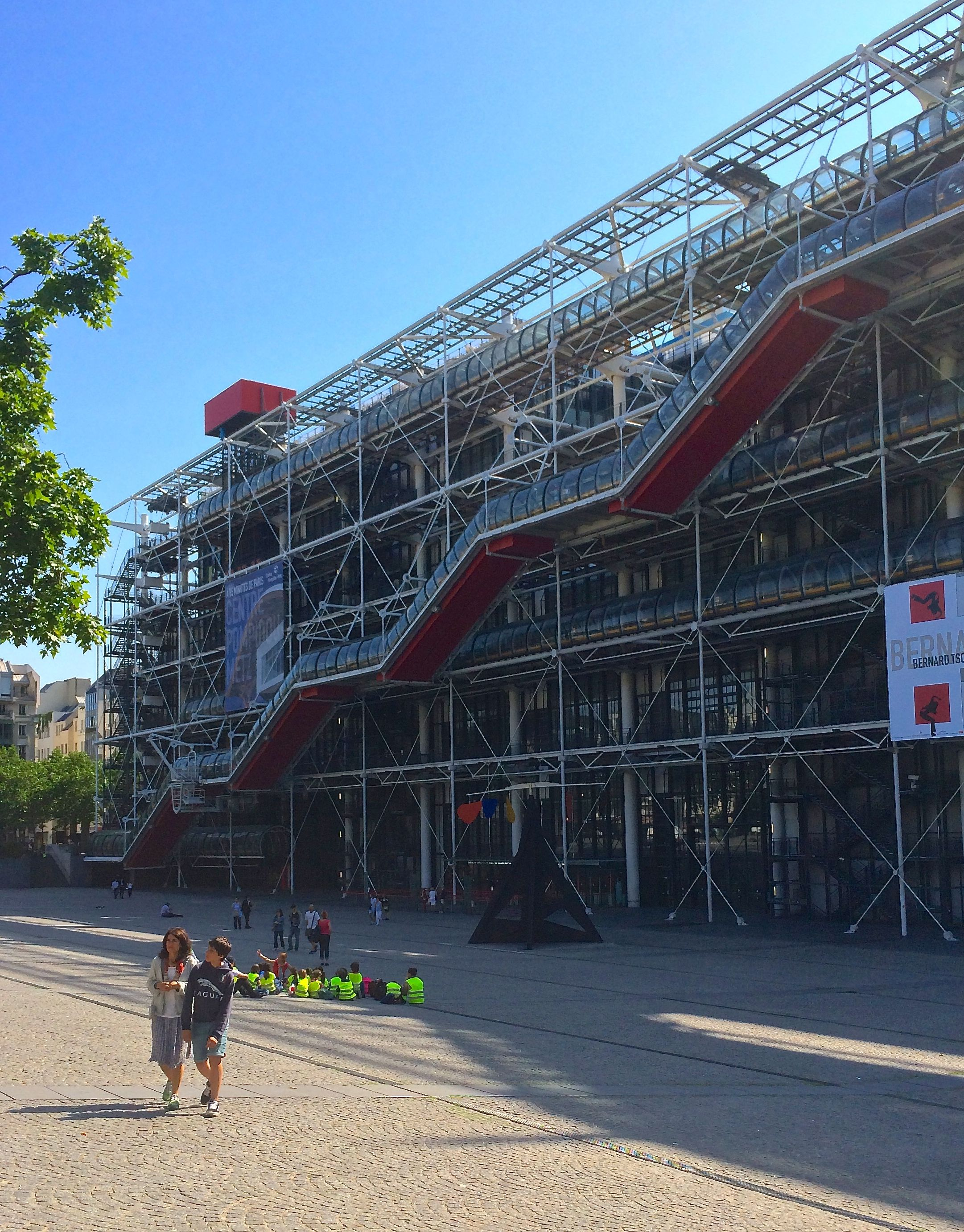 Centre Georges Pompidou as it looks today.