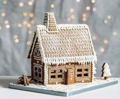 Gingerbread house - includes template #gingerbreadhouseideas
