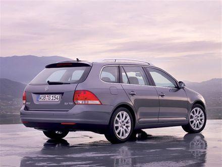 2008 Volkswagen Jetta Wagon Rear Corner Volkswagen jetta