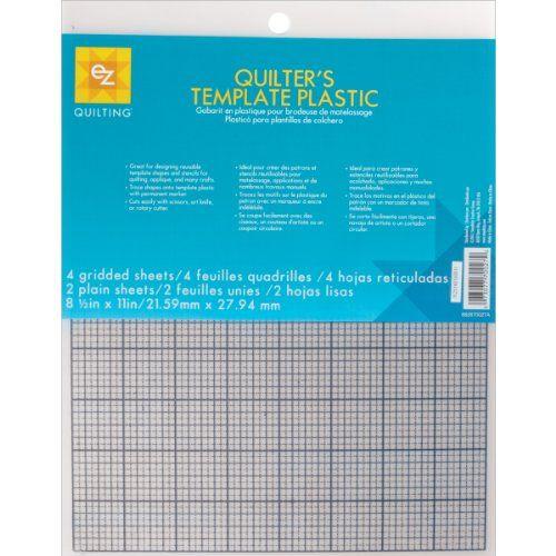 Ez Quilting 882670027 Quilter S Template Plastic Assortme Https Www Amazon Com Dp B000yz8t3q Ref Cm Sw R Pi Dp Quilting Templates Quilters Custom Stencils