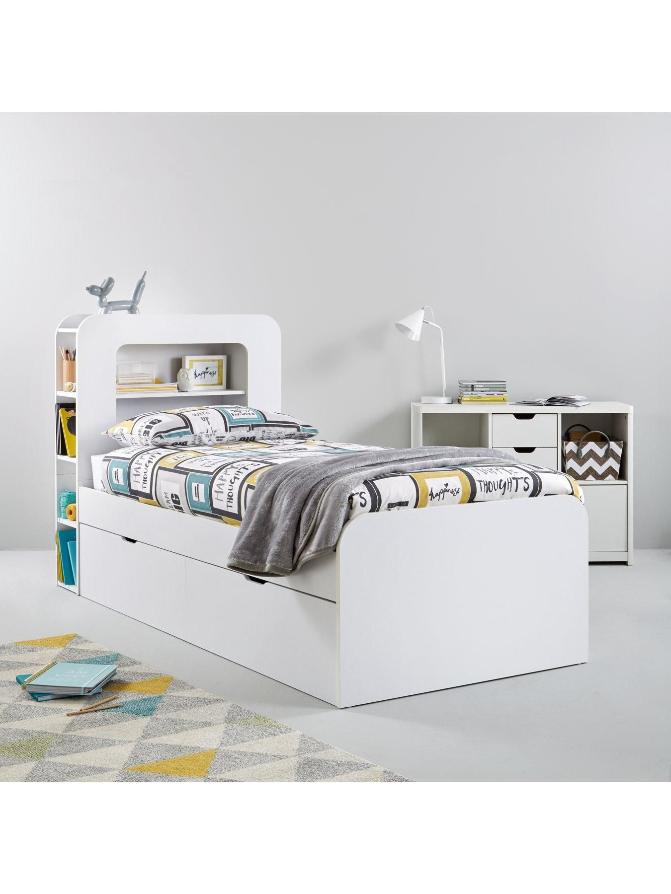 Aspen Single Storage Bed Storage Bed With Standard
