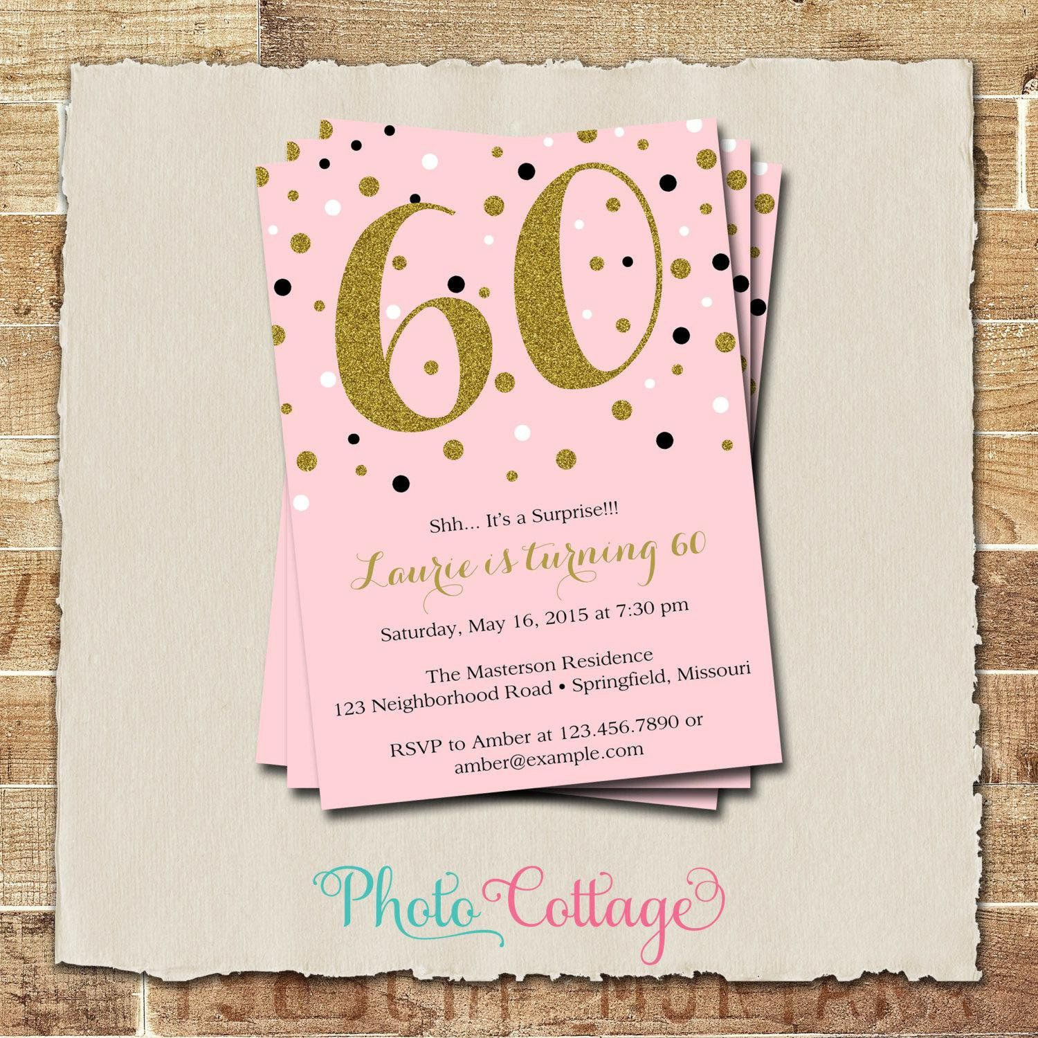 60th Birthday Invitations For Dad Birthday Invitation Card Template 60th Birthday Party Invitations Birthday Party Invitation Wording
