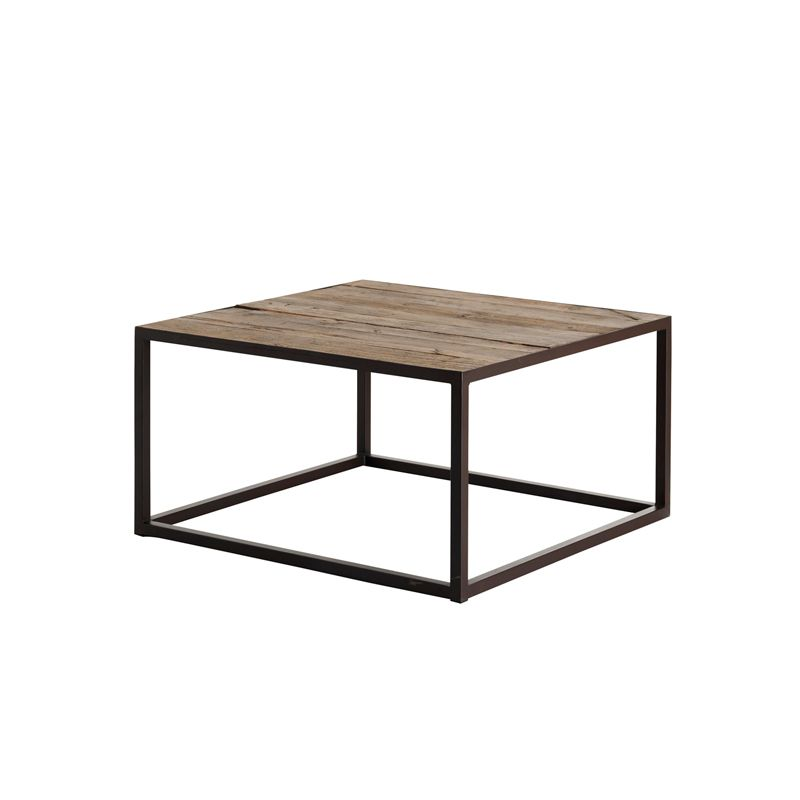 Santorini Brushed Gold Gloss White Coffee Table: Figy Sofabord - Home & Cottage 1995