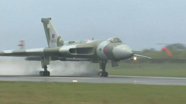 Some great coverage of #XH558 and the Falklands raids on the BBC website.
