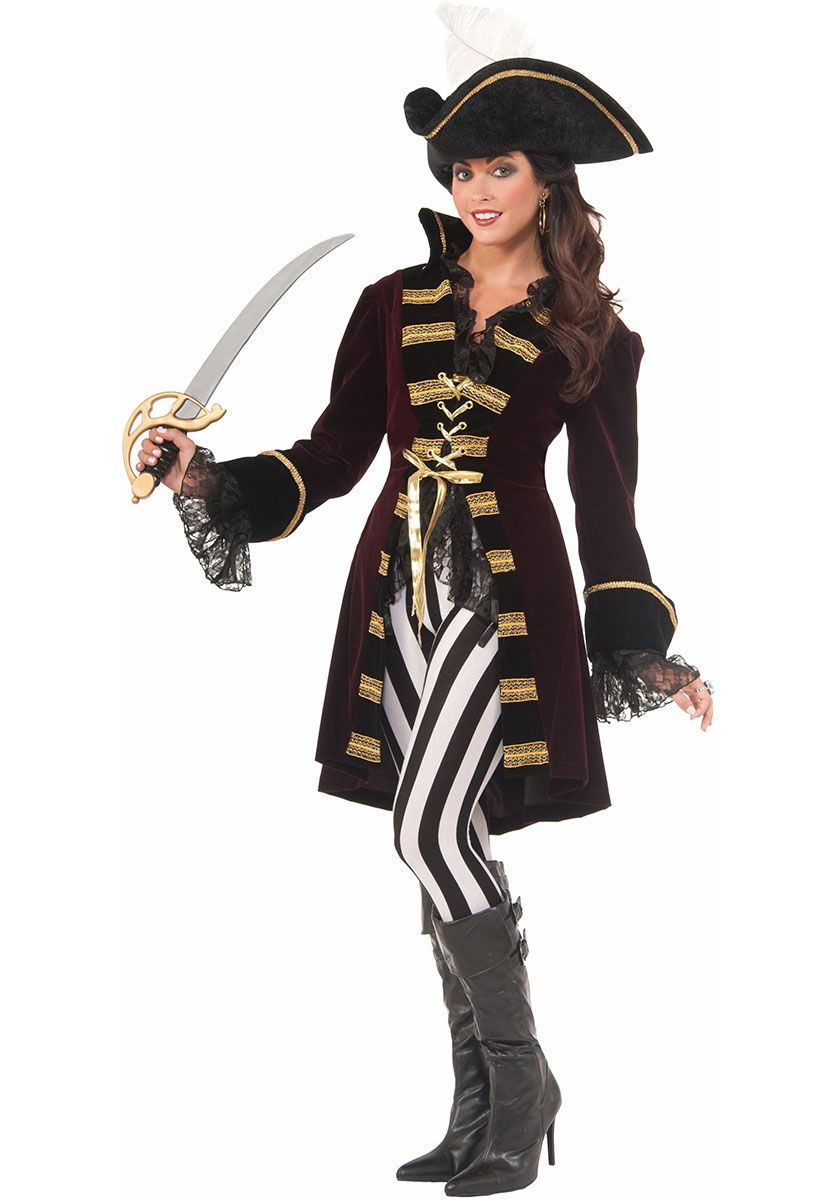 Captain Morgana Female Admiral Pirate Fancy Dress - Pirate Costumes at  Escapade™ UK 1f69255764d8