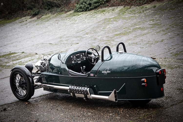 A Morgan 3 Wheeler! Unconventionally brilliant. I want one so much ...