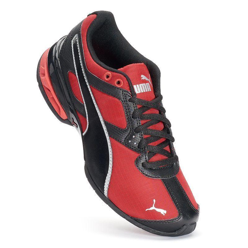 PUMA Tazon 6 Jr. Boys' Running Shoes, Boy's, Size: 7, Red