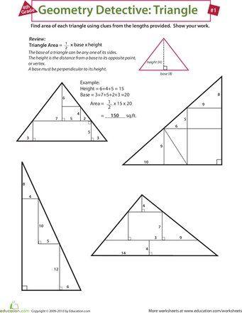 maths slideshow geometry detective triangle get