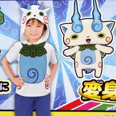 夏 新款 日本 原單 妖怪手錶 男童網眼 速乾 防曬卡通造型衣小石獅茲啦 防曬衣 120碼 萬聖節變裝