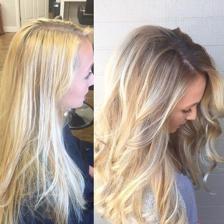 Reverse Balayage To Blend Roots Reverse Balayage Hair Balayage Hair Blonde Long