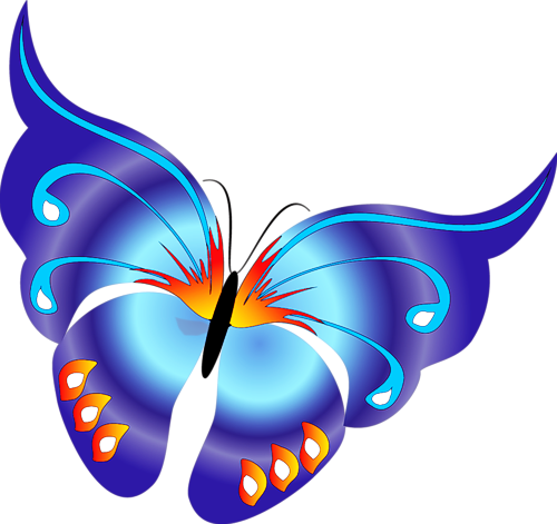 Cartoon Yellow Butterfly Clipart | butterflies &more | Pinterest ...