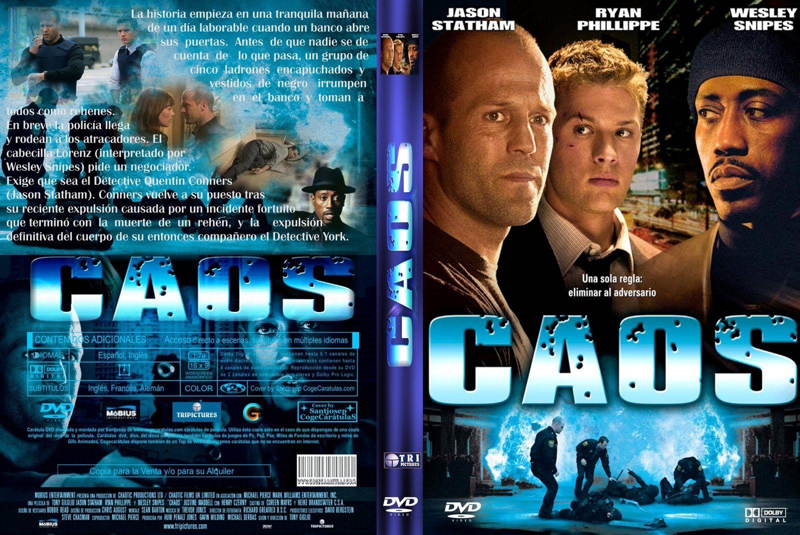 Filme Caos - Dublado (Jason Statham & Wesley Snipes) 2006 (com ...