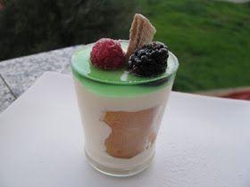 I Dolci di pinella: parfait al lime con savoiardi e bagna al ...