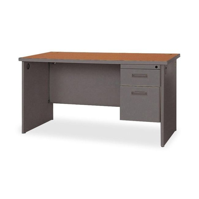 Lorell Durable Single Pedestal Desk Products Pinterest