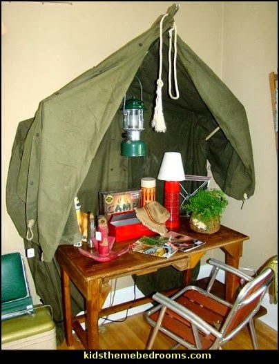 Camping theme bedroom decorating ideas boys camping themed bedroomVintage Army Themed Nursery  PIC HEAVY    HOME SWEET HOME  . Marine Corps Themed Room. Home Design Ideas