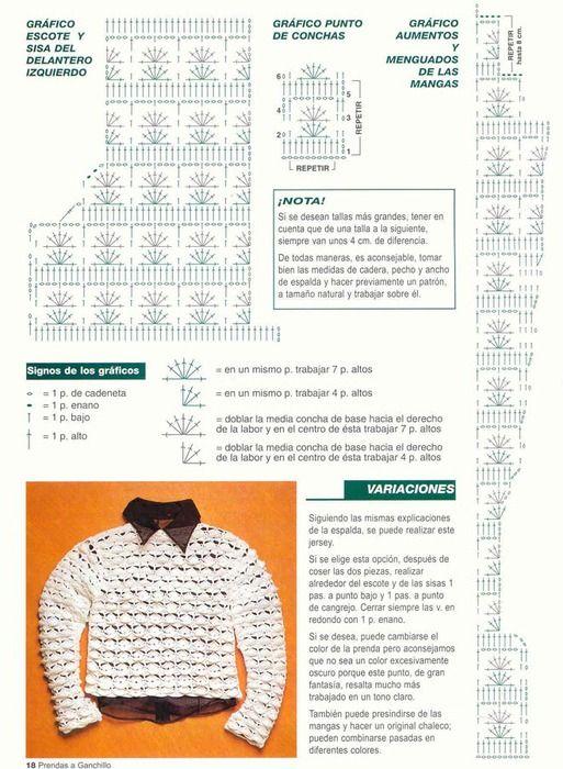 20 (513x700, 128Kb) | patrón infantil | Pinterest | Croché, Chalecos ...