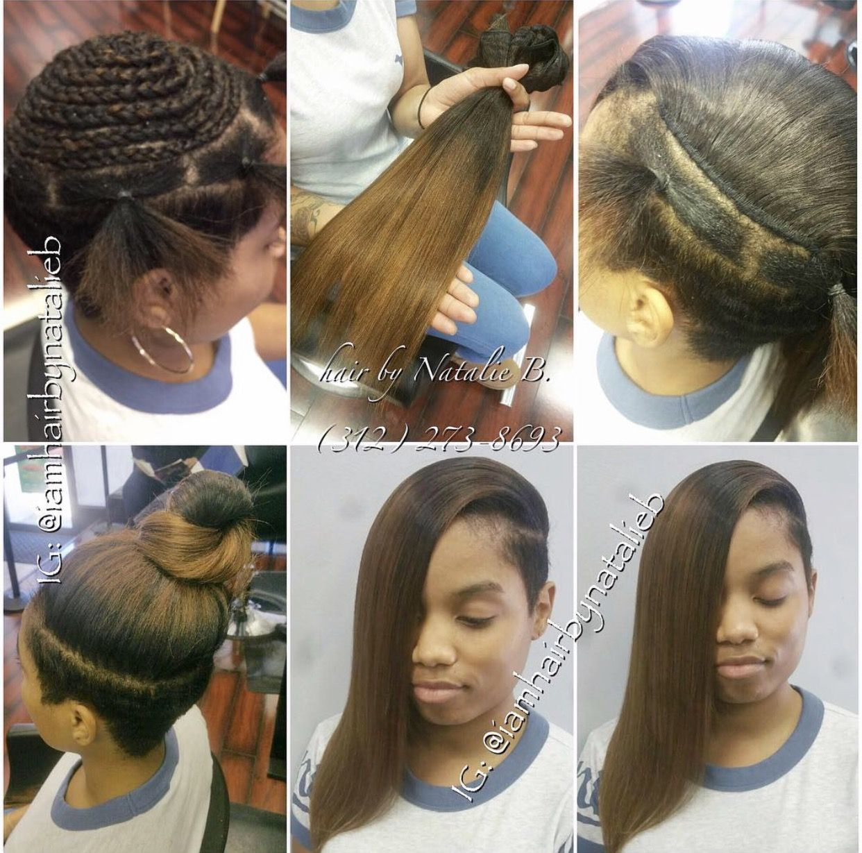 Clean ponytail with both sides and under shaved punkymo s check out this traditional sew in hair weave that i did for my client that pmusecretfo Gallery