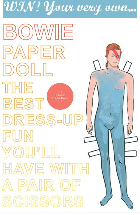 WIN! David Bowie Paper Doll!