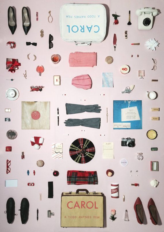 Carol (2015) Plakat A3, Artwork von Jordanien Bolton