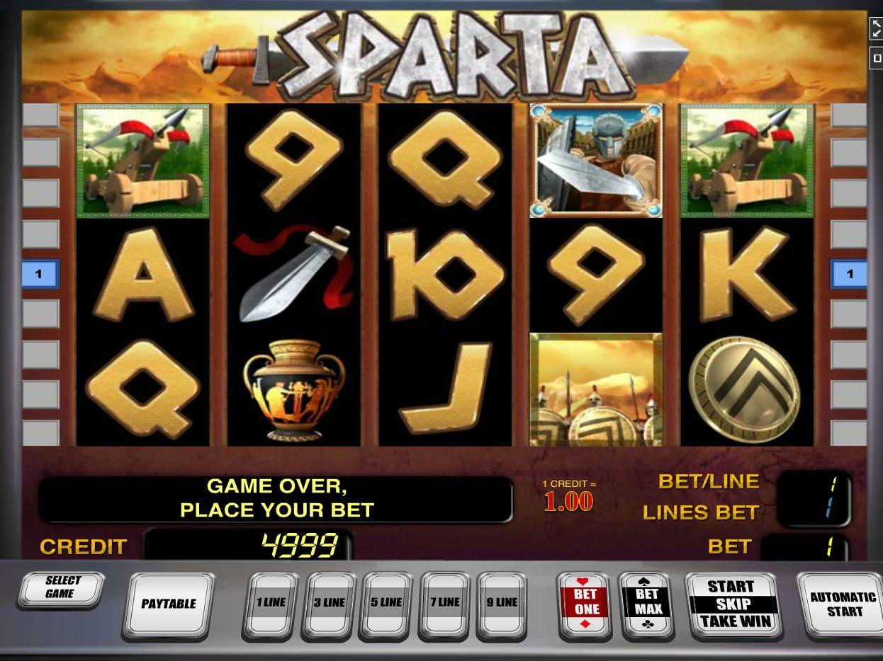 Sparta Slot Machine Demo