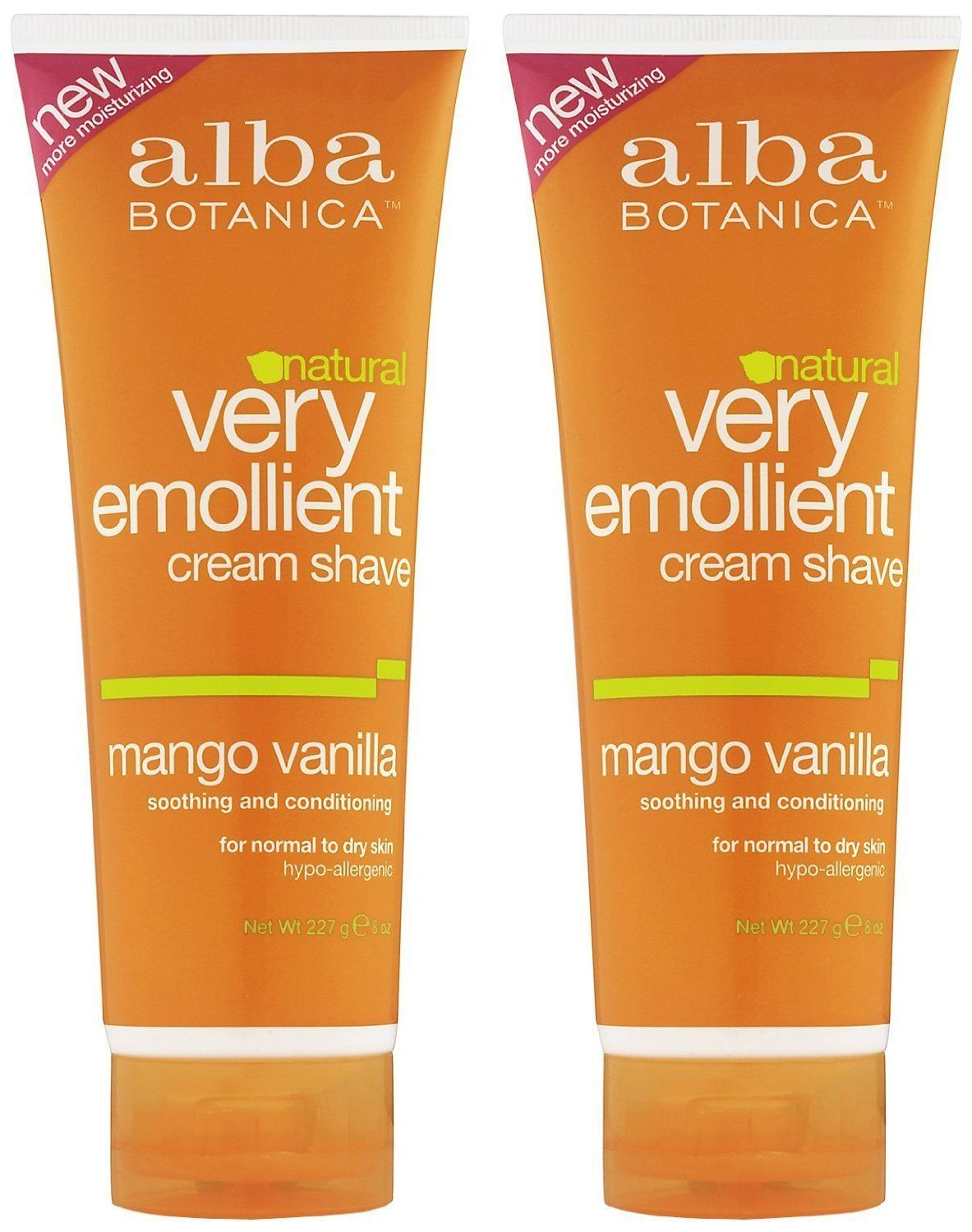 ALBA BOTANICA CREAM SHAVE,MANGO VANILLA, 8 OZ *** You can get more details here : Natural Beauty Care