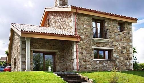Resultado de imagen para fachadas de casas rusticas modernas CASAS