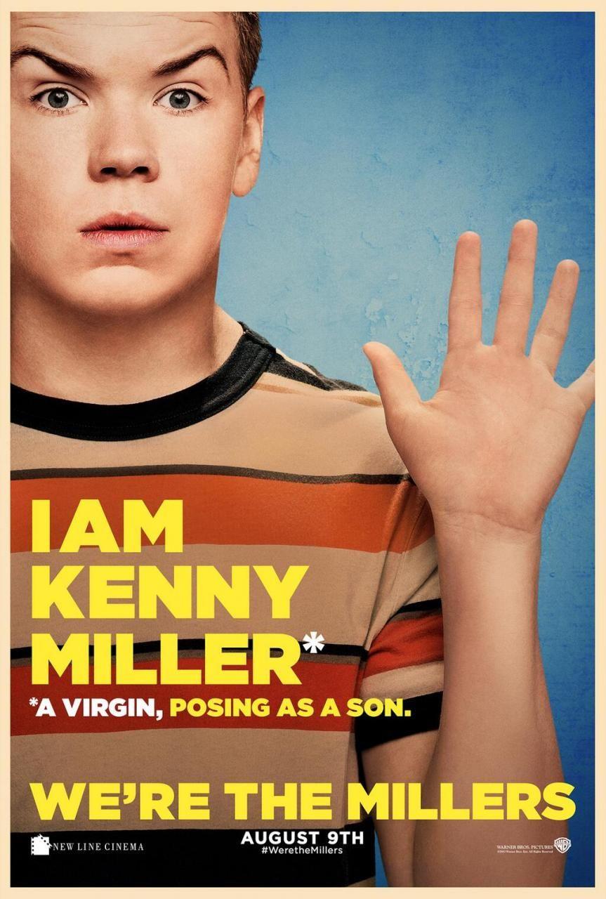 Will Poulter Poster Somos Los Miller Will Poulter Solo En Cines